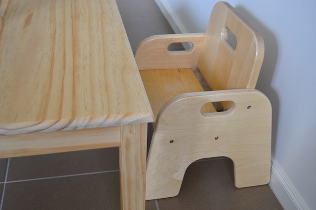 Montessori Weaning Table And Chair Part One How We