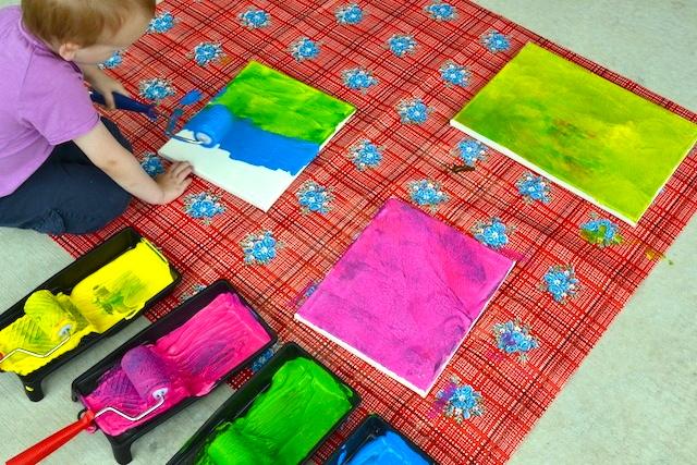 Caspar painting four