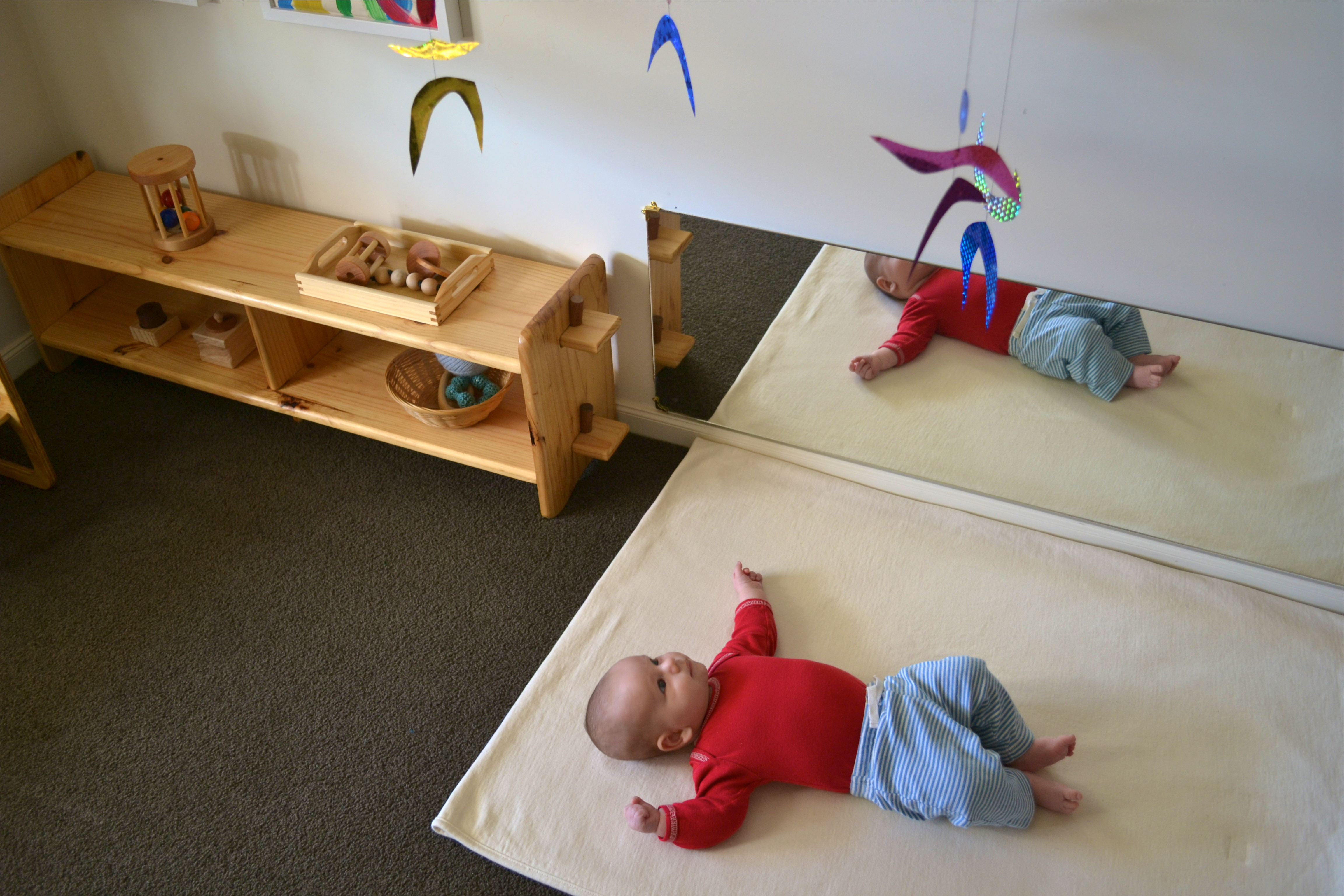 How We Montessori Infant Mobiles