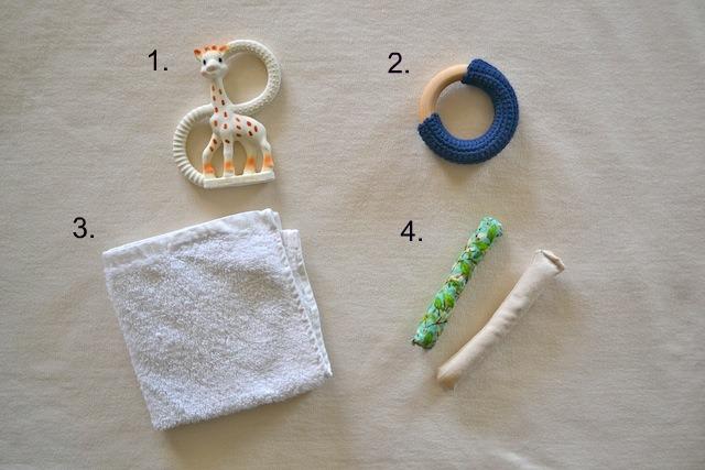 Teething items