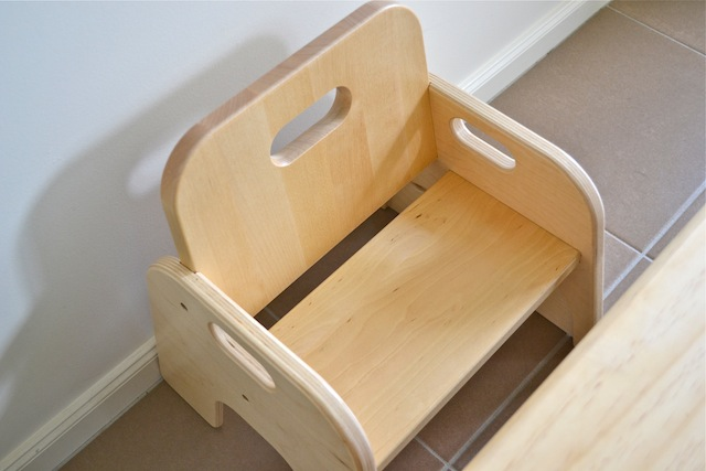 In Part Two Iu0027ll show the table and chair in use. & Montessori Weaning Table and Chair - Part One - how we montessori