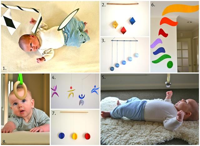 Montessori Infant Mobiles