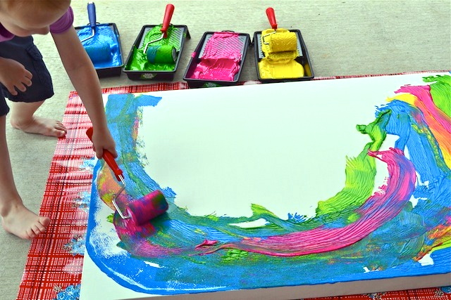 Caspar painting two