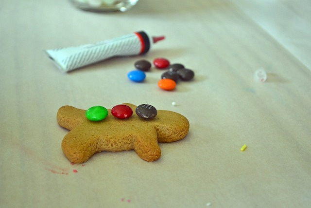 One gingerbread man
