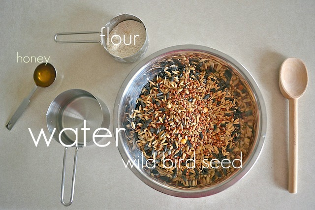 Bird seed mixture ingredients