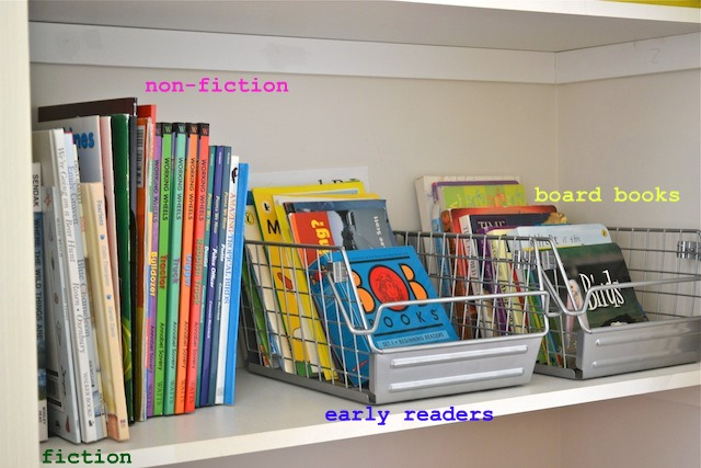 Book storage & Storage - how we montessori