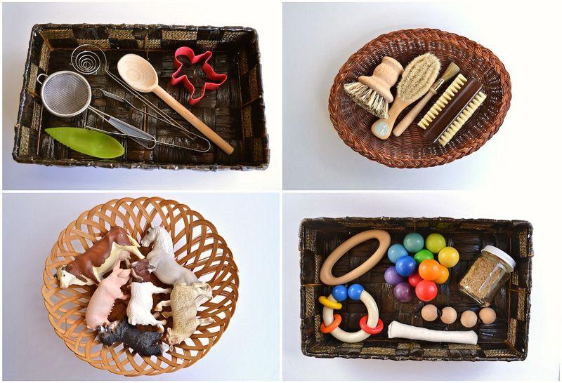 Baskets collage
