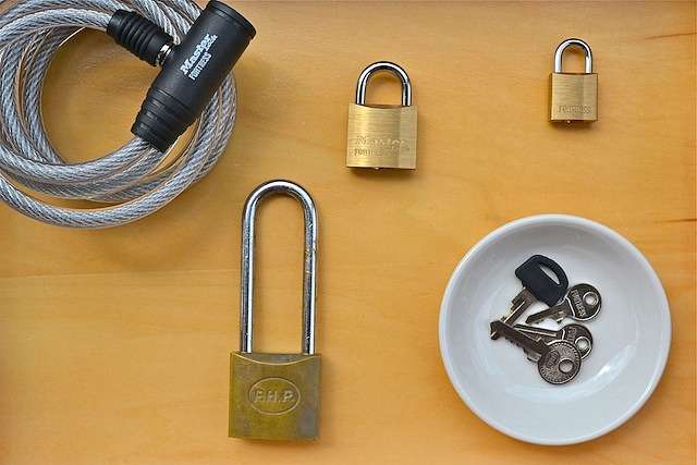Lock and key activity