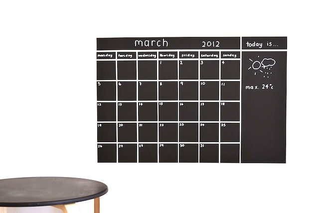 Our calendar 2012