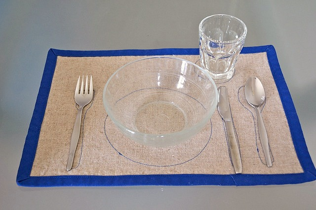 Montessori placemat & Oh gosh I finally did it. The Montessori Placemat. - how we montessori