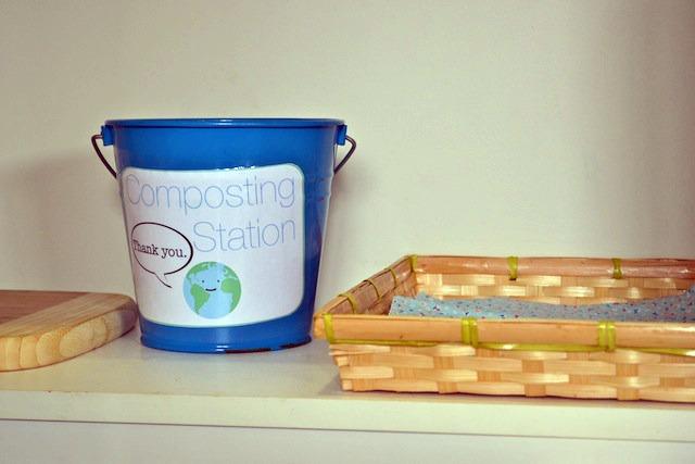 Composting station