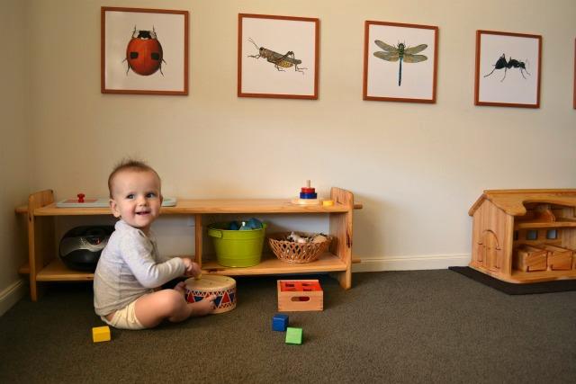 how we montessori: Otis\'s Montessori room