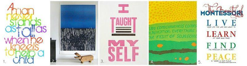 Montessori Posters