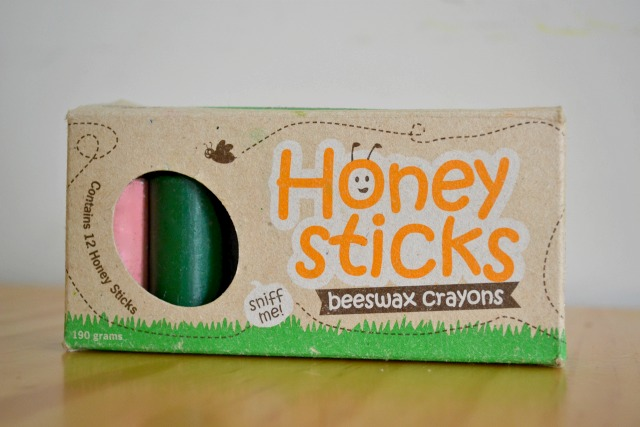 Honey Sticks - Beeswax Crayons