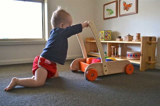 How To Introduce The Walker Wagon How We Montessori