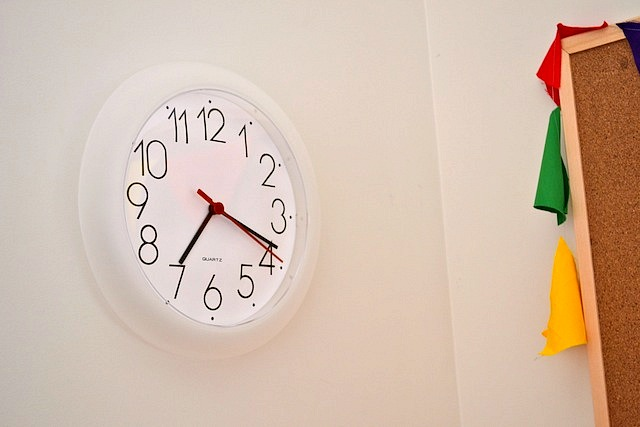 Caspar's wall clock