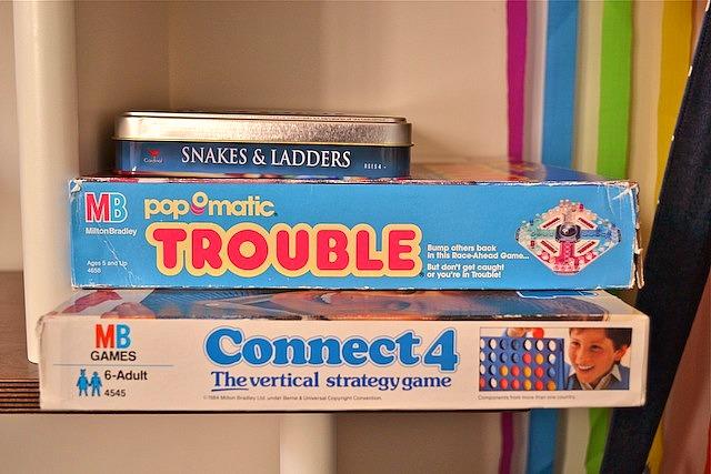 Caspar's favourite board games