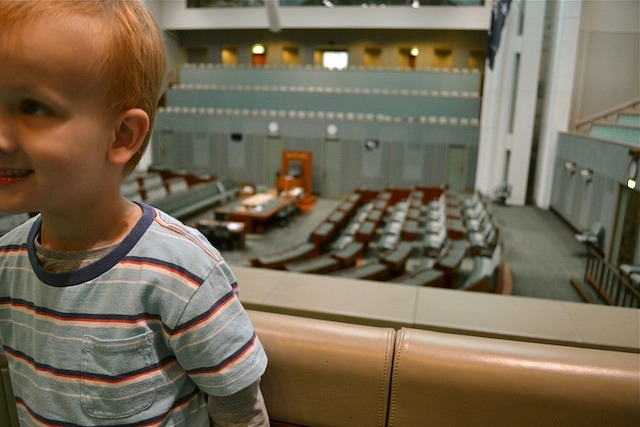 Caspar in the House of Representatives