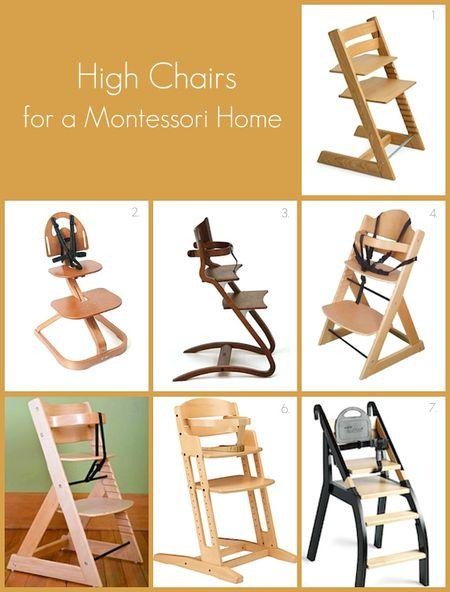 Merveilleux High Chairs