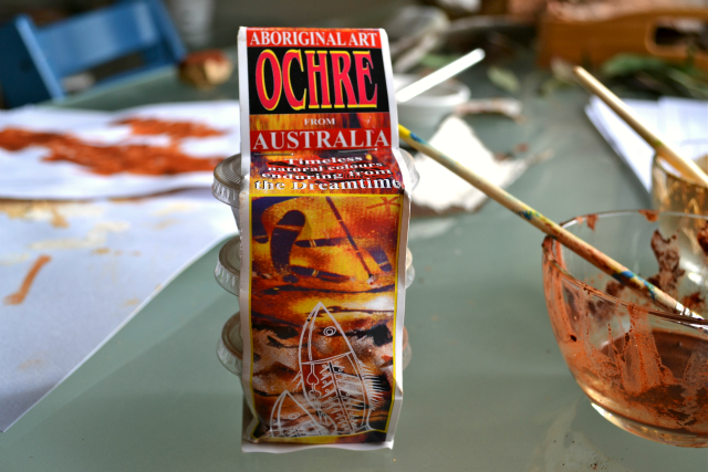 Aboriginal Art Ochre from Australia