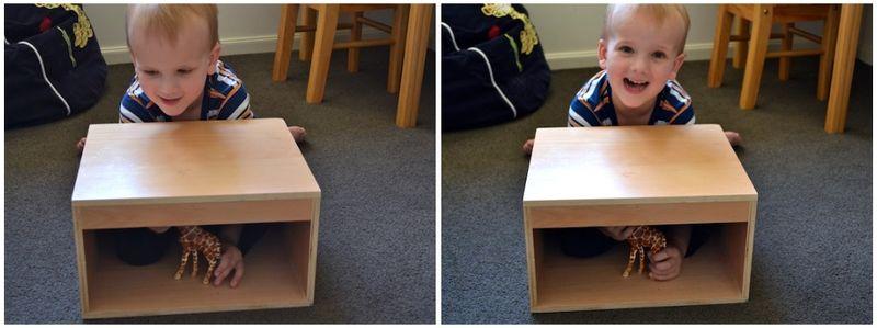 Caspar using Mystery Box