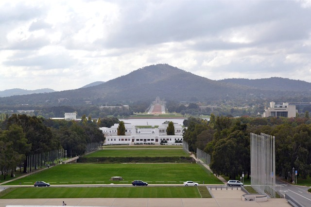 Old Parliament House and War Memorial